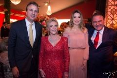 Camilo Santana, Graça Dias Branco da Escóssia, Onélia Santana e Jório da Escóssia