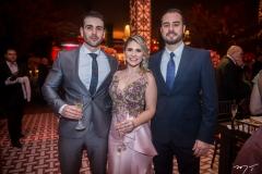 Daniel Estrela, Nathalia da Escóssia e Oswaldo Duarte
