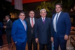Dito Machado, Eliseu Barros, Tales de Sá Cavalcante e Thiago Holanda