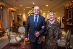 Fernando Cirino e Tereza Gurgel