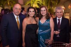 Fernando e Márcia Travessoni, Jô e Pádua Lopes