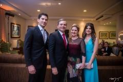 Gabriel, Sérgio, Cristiana e Bianca Sousa