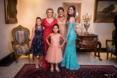 Giulia Dias Branco, Graça Dias Branco da Escóssia, Giovanna, Gisela e Gabriela Dias Branco