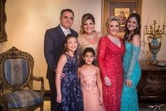 Herbert Vieira, Giulia, Gisela e Giovanna Dias Branco, Graça Dias Branco da Escóssia e Gabriela Dias Branco