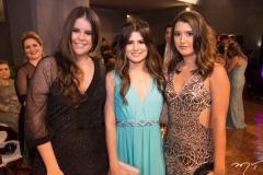 Isadora Dias, Bianca Sousa e Thais Lima
