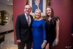 José Maria, Ana Maria e Maria Eduarda Filomeno