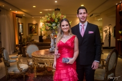 Letícia Teixeira e Gabriel Dias Branco
