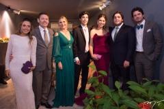 Lissa, Ivens Jr., Morgana e Lucca Dias Branco, Rafaela Soares, Luciano e Ivens Neto Dias Branco