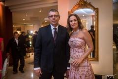 Luiz Augusto e Cristina Sobral