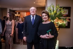 Luiz Marques e Regina Aragão