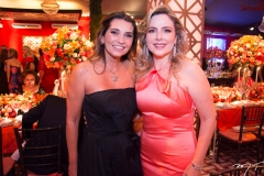 Márcia Travessoni e Suyane Dias Branco