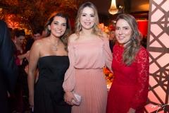 Márcia Travessoni, Onélia Santana e Águeda Muniz