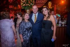 Maria Vital, Fernando e Márcia Travessoni