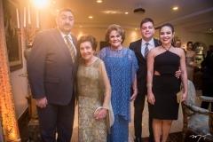Miguel Câmara, Tereza Cristina, Tereza e Caio Câmara e Liana Morais