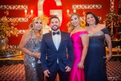 Paula Athayde, Márcio Cavalcante, Luciana Athayde e Guirlanda Lima