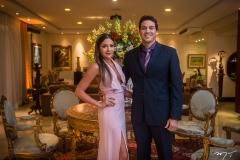 Rebecca e Evandro Ayres de Moura
