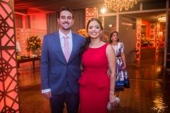 Renan Barsi e Ticiana Ramos