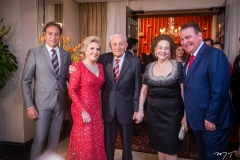 Sérgio Bezerra, Graça Dias Branco da Escóssia, Humberto e Norma Bezerra e Jório da Escóssia