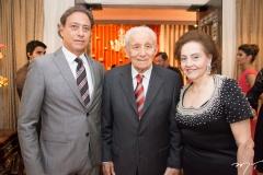 Sérgio, Humberto e Norma Bezerra