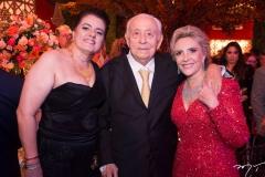 Silvana e Adauto Bezerra e Graça Dias Branco da Escóssia