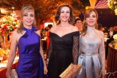 Venúsia Ribeiro, Gláucia Andrade e Karisia Pontes