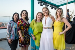 Márcia Neves, Ana Maria Feitosa, Vera, Inês e Riana Aguiar