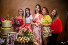 Letícia Studart, Lorena Pouchain, Izabela Fiuza, Fátima Duarte e Safira Moreira