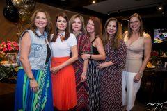 Márcia Andréa, Lorena Pouchain, Tania Albuquerque, Suzane Farias, Martinha Assunção e Ana Claudia Canamary
