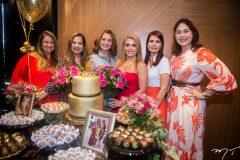 Safira Moreira, Martinha Assunção, Márcia Andrea, Letícia Studart, Lorena Pouchain e Izabela Fiuza