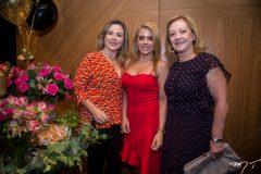 Suyane Dias Branco, Letícia Studart e Tania Teixeira
