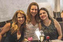 Alexandra Pinto, Karmilse Marinho e Adriana Arrais