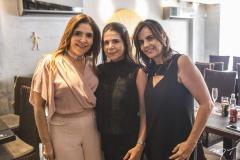 Cristiane Figueiredo, Maria Lúcia Negrão e Patrícia França