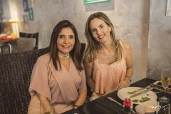 Cristiane Figueiredo e Ediane Câmara