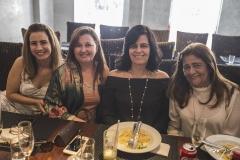 Karmilse Marinho, Naize Moreira, Inês Sobreira e Clésia Araújo