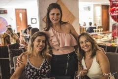 Leticia Macedo, Liliana Linhares e Poliana Oliveira