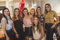Lia Linhares, Roberta Nogueira, Liliana Linhares, Wayne Moreira, Sakie Brookes, Liliana Diniz e Renata Ciríaco