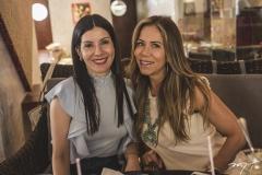 Lia Linhares e Sakie Brookes