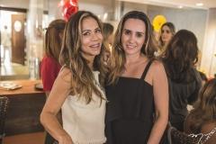 Sakie Brookes e Roberta Nogueira