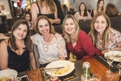 Silmara Rocha, Andrea Luquetti, Sandra Aguiar e Luiza Reis