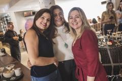 Silmara Rocha, Clésia Araújo e Sandra Aguiar