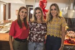 Wayne Moreira, Liliana Diniz e Renata Ciríaco