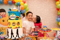 Aniversário de sete anos do Luca