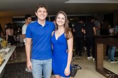 Galiza Neto e Gabriela Dias Branco