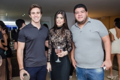 Gustavo Dourado, Letícia Cavalcante e Anderson Queiroz