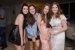 Letícia Cidrão, Tatiane Franco, Geovana Mendes e Lisa Pinheiro