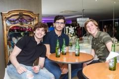 Odécio Tomaz, Luca Naspoline e Gustavo Pinheiro