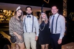 Ana Alice, Diego Pinto, Raissa Braga e Reno Pontes