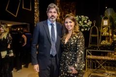 André Santos e Nabirra Acário