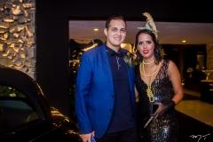 Felipe Cicconato e Viviane Castro