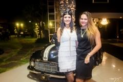 Gisele Leal e Ana Clara Mourão